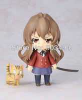 EMS Free Shipping 20pcs/lot Anime Nendoroid Cute Toradora! Aisaka Taiga PVC Mini Action Figure Toy Doll 10cm