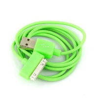 New USB Data Charger Cable Cord for Apple iPhone iPod iTouch Green
