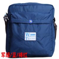 Wilson one vertical version of the casual sports shoulder bag messenger bag nylon canvas man bag three-color mx317