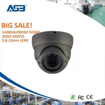 36led night vision 2.8-12mm varifocal indoor 650tvl dome camera security cctv camera system,free shipping