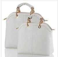 AR408 2014 New arrival famous brand good quality composite cow leather CROCO modern design women handbag/Shoulder Bag Q9
