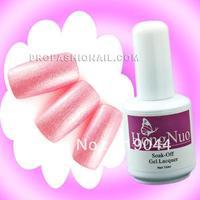 Free Shipping 15ml Baby Pink glitter Soak off UV Gel Polish Set Nail Polish Color Nail Vanish NA591