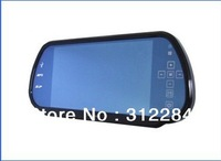 Free Shipping 7 Inch Rearview  Mirror Monitor HD sreen New Product  with Mp5