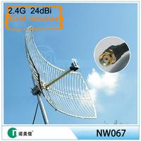 [Manufactoy] 2.4G outdoor antenna,2.4ghz grid 24dbi antenna,24DBi
