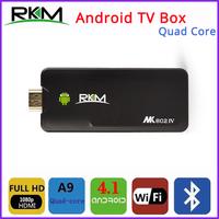 Free Shipping - Rikomagic RKM MK802IV Quad Core Android TV Box RK3188 2GB DDR3+8GB Build in Bluetooth WiFi 1080P