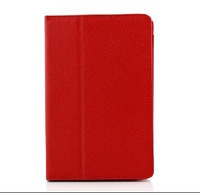 New Folio Carry Case Cover for Amazon Kindle Fire w / Stand Red