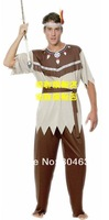 adult cosplay costume indian man dressing Indian male Halloween party costume free shipping
