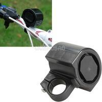 Mini Plastic Bicycle Bike Cycle Ultra-loud Electronic Bell Ring Horn Black  #gib