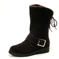 Casimir liner plus wool women's cowhide high-top shoes boots alpine boots snow boots women's shoes 1118