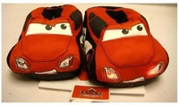 2014 Children within the home cotton Car Slippers Kids Baby shoes soft bottom all inclusive with warm slippers Flash 156