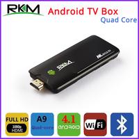 Free DHL - Rikomagic RKM MK802IV Quad Core Android TV Box RK3188 2GB DDR3+8GB Build in Bluetooth WiFi 1080P - 20pcs/lot