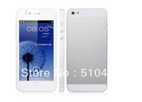 5i Smart Phone MTK6577 Dual Core 1.0GHz Android 4.0 Phone 3G GPS 4.0 Inch Capacitive Screen 8.0M Camera Blue/white free shipping