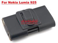 Free Shipping Belt Clip Case PU Case Mobile Phone Case  For  Nokia Lumia 925