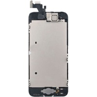 Replacement for iPhone 5G LCD screen digitizer with camera home button assembly