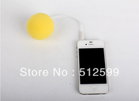 5% OFF 100pcs DHL New Arrival Portable Speaker Colorful Music Balloon Speaker 3.5mm audio jack for mobile phone with retail box