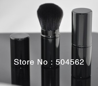 Retractable Bulk Paint Foundation Blush Brush fashionable soft makeup BLACK NEW