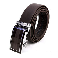 Kangaroo male genuine leather casual belt men's commercial automatic buckle cowhide strap genuine leather belt e59
