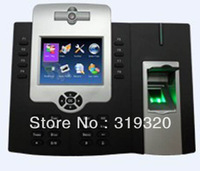 Newest biometric fingerprint time attendance and access control with camera and FRID card reader iclock880/ID