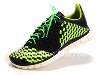 Latest design summer 2013 men's running shoes hand-woven breathable  weaving sports shoes size:EUR40--45