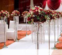 Free shipping 10pcs/lots/ acrylic crystal wedding lead road/ 120cm tall/20cm diameter/item No.OUGE-009