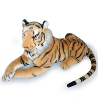 Pernycess authentic simulation tiger 9# 130cm plush giant tiger toy doll boy's kids children Christmas gifts free shipping