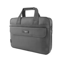 Male 15 briefcase grey oxford fabric handbag one shoulder cross-body document