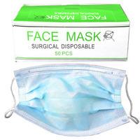 Disposable non-woven face masks medical masks dust mask nail art supplies  50pcs