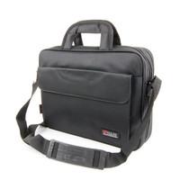 Small briefcase a4 handbag one shoulder messenger bag business bag brief light black