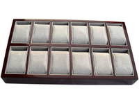 Quality paint watch box double 12 watch box watch display rack display tray