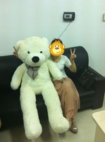 """63""""/1.6 meter finished teddy bear 3 colors plush toy stuffed toy"""
