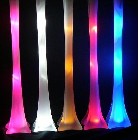 Free shipping -WHITE 5 sets Eiffel Tower LED Light for Inside Vase(China (Mainland))
