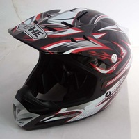 2013 hot selling New arrival motorcycle helmet off-road helmet yh-a623 6 black and red