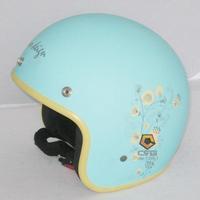 2013 hot selling Helmet evo motorcycle 309 bird exlinction mint green