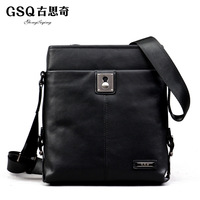 Gsq 2013 genuine leather man bag casual male cowhide shoulder bag messenger bag bags