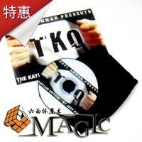 Tko professional close-up coin magic product / free shipping / whole sale / 25pcs/lot