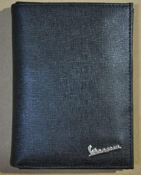 Vespa medium-long male cowhide wallet