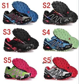 2013 NEW Salomon Speedcross 3 Running Shoes Men's France Walking Ourdoor Shoes Climashield Sport CS XT 3D wings ultra 40-45