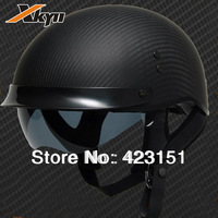 Clearance Sale Authentic American carbon fiber motorcycle helmet DOT certification halley  cruise motorcycle helmet