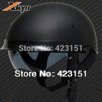 Clearance Sale Authentic American carbon fiber motorcycle helmet DOT certification halley  cruise motorcycle helmet