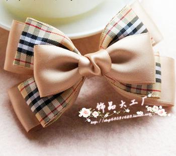 lady's hari jewelry Coffee hair accessory diy bow hairpin hair pin girls hair accessory headband headbands for women 10pcs/lot