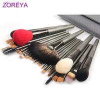 Zoreya 26 grey needle brush set loose powder brush the professional make-up cosmetic tools cosmetic brush set