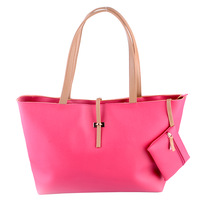 2013 women's handbag fashion trend of the shoulder bag large PU female handbag candy color millenum women's big bag