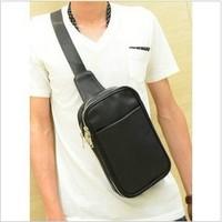 Fashion brief shoulder bag casual messenger bag man bag 2013 trend fashion bag chest shopping bag travel bag