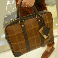2013 man bag messenger bag handbag fashion casual laptop bag personality male fashion male shoulder bag