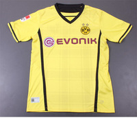 Hot Sale! 2013/14 Borussia Dortmund Home Yellow Soccer Football Jersey, Top Thai Quality BVB Soccer Uniforms Shirt free Shipping