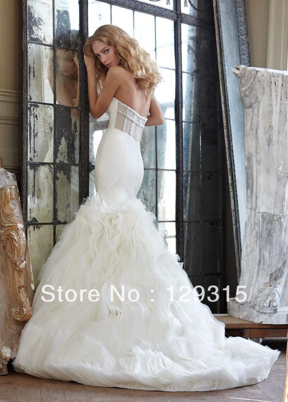 Modern Celebrity Wedding Dresses : Modern tea length wedding dresses invitations celebrity