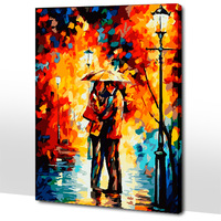 Frameless picture on wall acrylic painting by numbers abstract drawing by numbers unique gift coloring by numbers couples