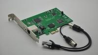 Free shipping TE110E PCI-E TE110P single port E1/T1 card for asterisk system, asterisk gateway, voip system