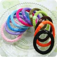 Hair accessory hair accessory plush accessories ultra elastic tousheng headband rubber band elastic headband