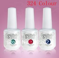 Free shipping:new style nail uv gel polish Soak Off uv gel polish nail 15ml